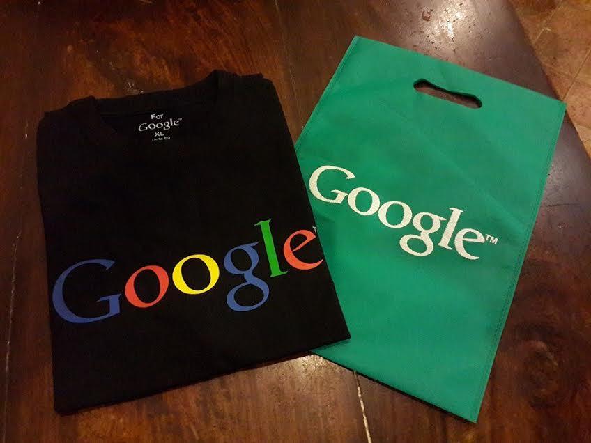 google tshirts